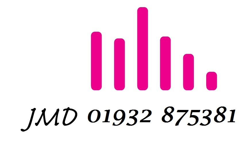 JMD Accountancy can be contacted on 01932 875381